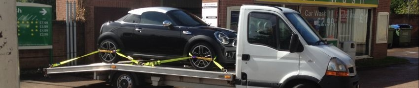 Mini Cooper Oldbury to Newport