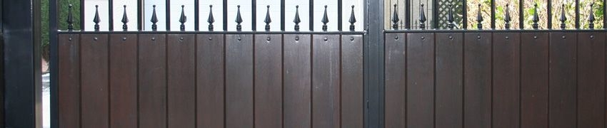 Made to Measure Bespoke Electric Wooden Gates