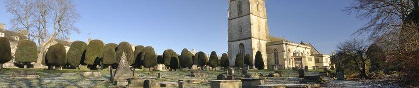 Painswick Church title=