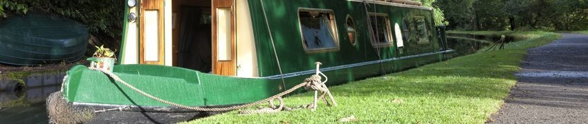 Steel treatment for narrow boats and barges