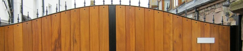 The different types of Wooden Electric Gates
