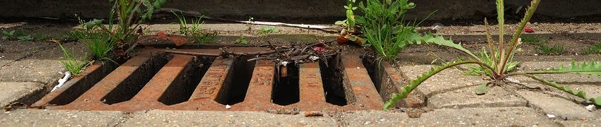 What causes a drain blockage