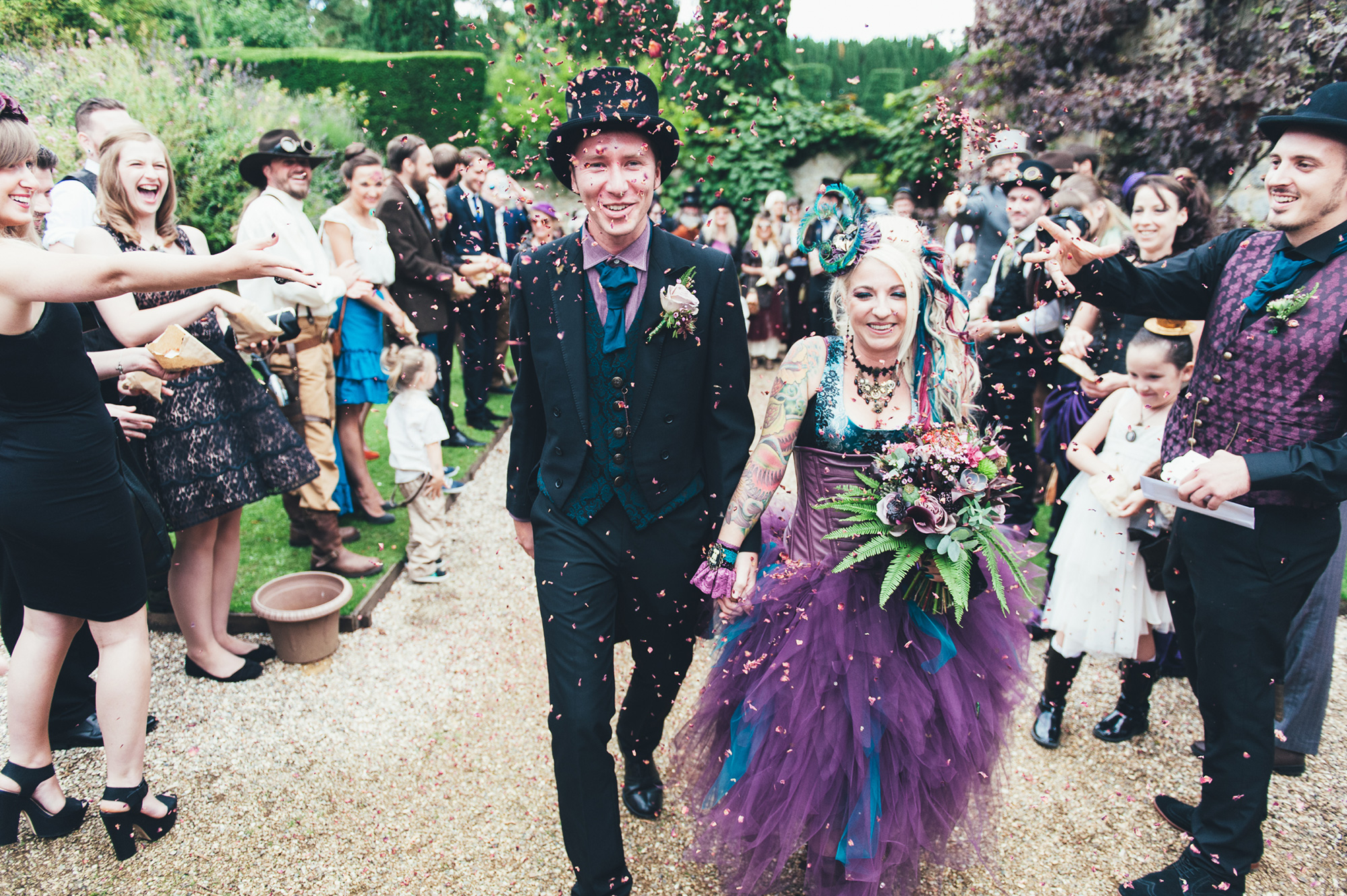 And The Bride Wore Purple: Jojo And Andy's Steampunk