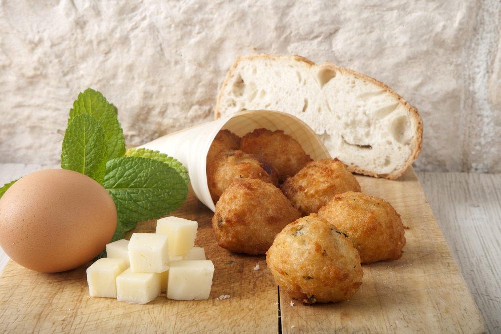 Polpette di Pane (1 porzione = 7 polpette)
