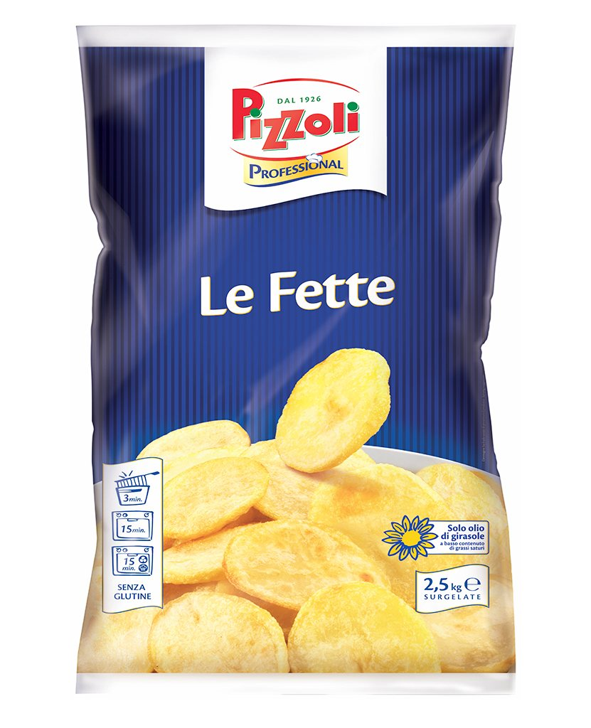 Patate a Fette Fritte PIZZOLI