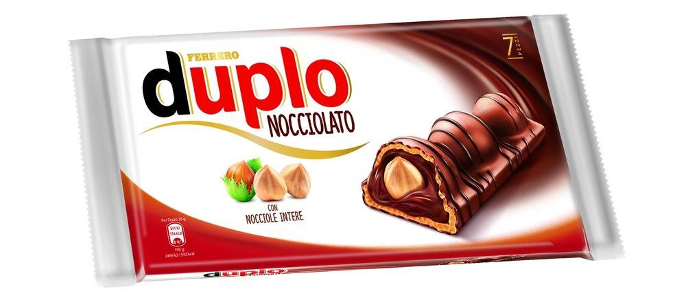 Duplo Nocciolato Ferrero Leggero