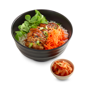 Teriyaki Donburi Pollo