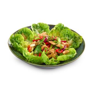 Warm Chili Salad di Pollo