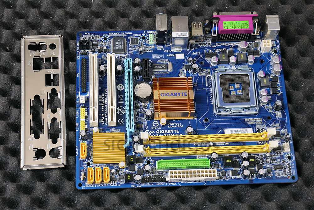 GIGABYTE GA G31M ES2L VGA DRIVER FOR MAC DOWNLOAD