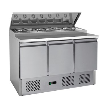 A fantastic choice of refrigerated prep counters / pizza prep counters - saladettes brought to you a