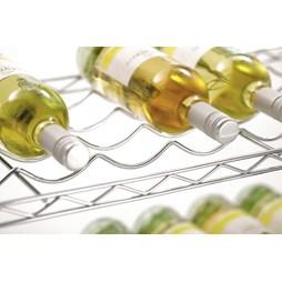 5 Tier Adjustable Wine Racking Shelf