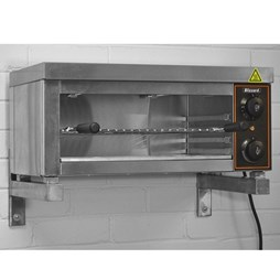 Blizzard 2000W 600mm Wide Wall Mountable Electric Salamander Grill