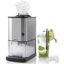 Hendi 271520 Semi Commercial Countertop Ice Crusher - 12kg of Ice Per Hour