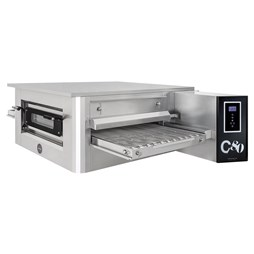 "Italinox Prisma 32"" Belt Electric Conveyor Pizza Oven C/80 With Free Stand - 3 Phase Electric"