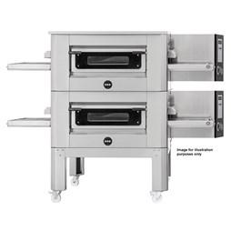 "Italinox Prisma 16"" Belt Conveyor Pizza Oven C/40 1ph Electric With Free Stand"