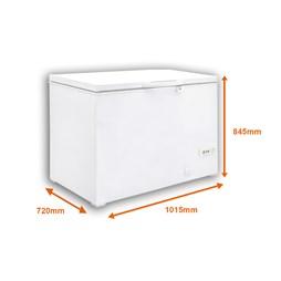 Gastroline 288 Litre Chest Freezer with Lockable Lid & 2 Year Warranty