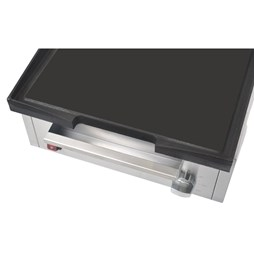 Buffalo 1.8kW 385mm Wide Cast Iron Countertop Griddle