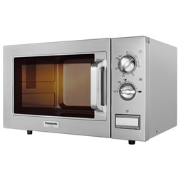 Panasonic NE1027 1000W Commercial Flatbed Microwave Oven With 3 Year Warranty