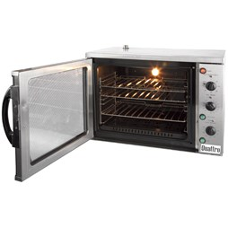 Quattro Titanium 108 Litre Large Convection Oven With Cook and Hold