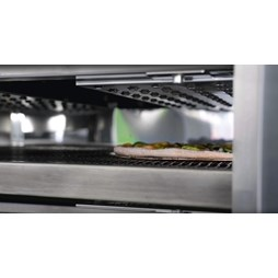 """Italinox Prisma 32"""" Belt Gas Conveyor Pizza Oven C/80 With + Free Stand"""