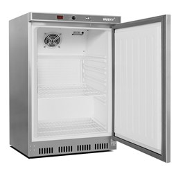 Husky 78 Litre Stainless Steel Undercounter Catering Fridge CSS1H With 3 Shelves