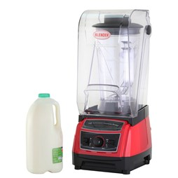 Quattro 3.8 Litre Bar Blender With Sound Cover. Commercial Model