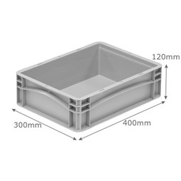 Premium Small Pizza Dough Tray  400 x 300 x 120mm