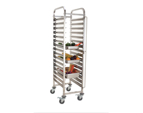 Quattro 16 Tier Clearing Trolley - 1-1 GN Size