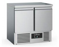 Combisteel EcoFrost 2 Door Refrigerated Prep Counter With Solid Top S901