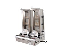Archway Twin x 3 Burner Natural Gas Kebab Grill