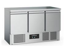 Combisteel Ecofrost S903ST Solid Top 3 Door Refrigerated Prep Counter