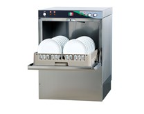 Italinox MK 500mm Basket Dishwasher with Drain, Rinse Aid & Detergent Pumps
