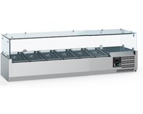 Combisteel Ecofrost 1400mm Refrigerated Topping Unit  VRX1400 6 x 1-4 GN Pans