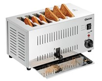 Bartscher Stainless Steel 6 Slot Commercial Toaster TS60 100197