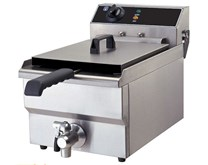 Quattro 12 Litre Tank Commercial Fryer With Drain Tap
