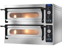 GAM FOX 44 Twin Deck Pizza Oven With Refractory Stone Base