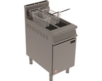 Falcon Twin Basket Floor Standing Natural Gas Fryer 25 Litre Capacity