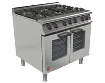Falcon Dominator G3106 6 Burner Natural Gas Commercial Range Cooker