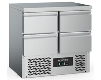 Combisteel Ecofrost S901 4D Refrigerated Prep Counter With 4 x Drawers