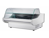 Gemini GEM200SL 2Mtr Wide White Slimline Static Serve Over Counter