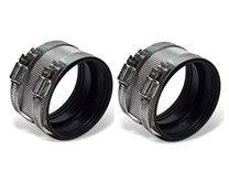 1 Pair Grease Trap Coupling - Flexible Connector 50mm