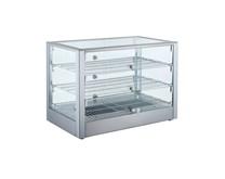Blizzard BPW1 Stainless Steel Counter Top Heated Display Merchandiser 115L