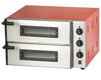 Combisteel Compact Twin Deck Electric Pizza Oven with 13 Amp Plug