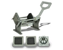Italinox Veg Prep - Chip Cutter - Potato Slicer With 4 FREE Cutters Included
