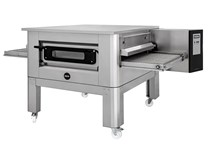 """Italinox Prisma 32"""" Belt Electric Conveyor Pizza Oven C/80 With Free Stand - 3 Phase Electric"""