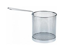"Quattro 6"" Diameter Stainless Steel Pasta Portion Basket"