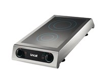 Lincat Twin Induction Hob IH21 Heavy Duty Commercial Catering Model