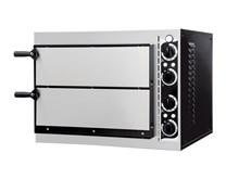 Italinox Prisma Forno Basic 2-40 Twin Deck Electric Pizza Oven