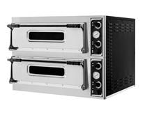Italinox Prisma Basic XL44 Twin Deck Electric Pizza Oven