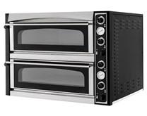 Italinox Prisma Superior XL44 Glass Twin Deck Electric Pizza Oven